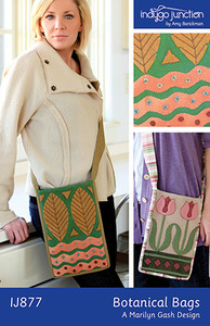 Indygo Junction Botanical Bags Sewing Pattern