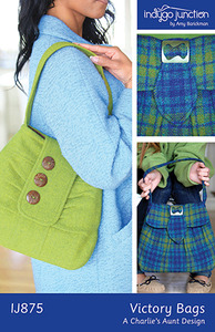 Indygo Junction Victory Bags Sewing Pattern
