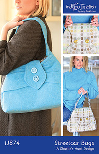 Indygo Junction Streetcar Bags Sewing Pattern