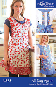 Indygo Junction All-Day Apron Sewing Pattern