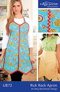 Indygo Junction 93-4215 Rick Rack Apron Sewing Pattern