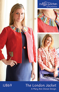 Indygo Junction The London Jacket Sewing Pattern