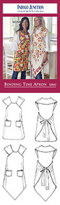 Indygo Junction Binding Time Apron Sewing Pattern