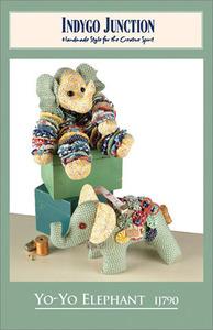 Indygo Junction Yo-Yo Elephant Sewing Pattern