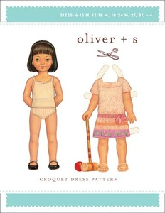 Oliver + S Croquet Dress (6 m-4) Sewing Pattern