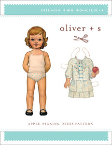 Oliver + S Oliver + S: Apple-Picking Dress (6 m-4) Sewing Pattern
