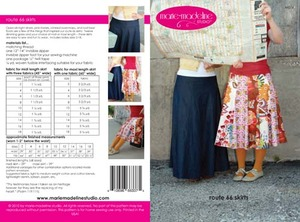 Marie-Madeline Studio M076 Route 66 Skirts Sewing Pattern
