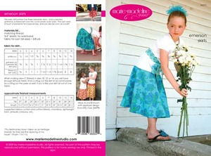 Marie-Madeline Studio M071 Emerson Skirts & Sash Sewing Pattern