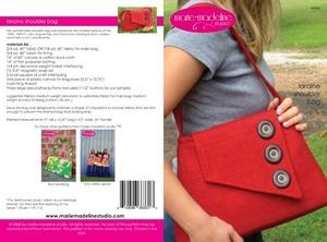 Marie-Madeline Studio M064 Laraine Shoulder Bag Sewing Pattern