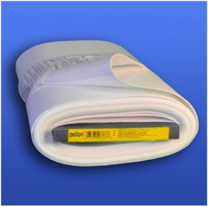 Pellon Deco-Fuse 18'' x 10yds, White Thin but Firm Fusible Interfacing