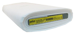 "Pellon PP926 Extra-Firm Sew in Stabilizer White Interfacing 20""x15Yds Bolt"