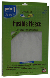 "Pellon Fusible Fleece 22"" x 36"" Iron-on Fusible Quilting Fleece"