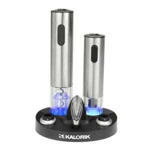 Kalorik Wine Lovers Set: Corkscrew Opener and Preserver CKS 40211