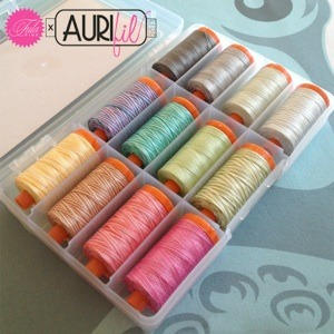 Aurifil, Tula, Pink, TP50TP12, Premium, Collection, 12, 14, 22, Yard, Spool, 50, weight, Cotton, Thread