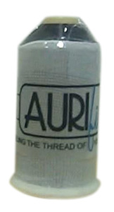 Aurifil ITCS16000 Invisible 100% Nylon Thread Smoke 16,400 Yard Cone Italy