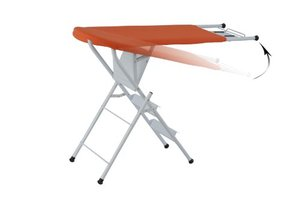 Above Edge, AEIB-6D, Ironing Board, and Step Ladder, Combo, 37.4x34.6x13.8""