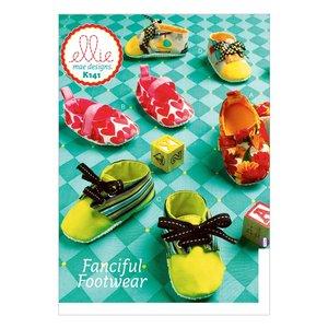Ellie Mae Designs K141 Fanciful Footwear Baby Booty Sewing Pattern