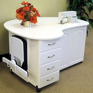 Amazing Fashion Sewing Cabinets 8300 Or 8300Q Quilters Cloud 9 Table, Manual Or  Electric Lift,