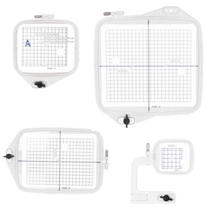 Sew Tech 4in1 ABCD Hoops for Janome 300E, 350E, 9500, 9700, 10000, 10001, Elna 8200, 8300, 8600, Bernina Deco 330-340, Reduced to 50% Off, Few Left!
