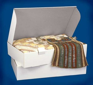 "44783: SAR 1405 Acid Free Storage Box 5x18x15"" +24 Paper Wrap Tissues 20x30"""