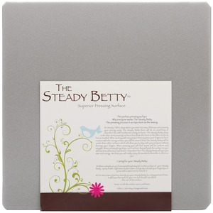 "GRAY      -STEADY BETTY 16X16, Steady Betty SB16x16 16x16"" Ironing Board Pressing Surface, Blonde"