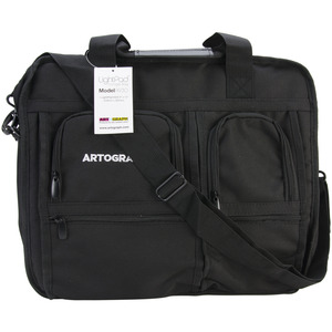 "Artograph A225730 Storage Bag 16x14.5x2"" for A930 Light Pad, 5 Zippered Pockets, Handle, Shoulder Straps"