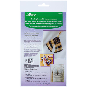 Clover 9922 Beading Loom Kit Pendant Necklace