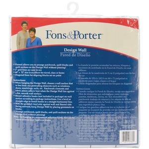 """Dritz Fons & Porter Quilt Design Wall 60""""X72"""""""