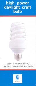 Daylight U15200 20W Watt, 100W Equivelent True Color Natural Daylight Spiral Replacement Bulb