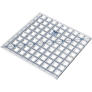 "Grace TC17097 TrueCut Ruler 9-1/2""X9-1/2"" Rotary Cutter Track 1/8"" Grid"