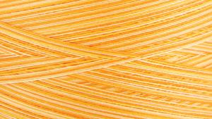 Gutermann Natural Cotton Thread Variegated 3,281 Yards Sunrise Sunset Yellow