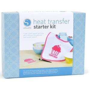 Silhouette Cameo HEATKIT Heat Transfer Starter Kit, Instruction DVD & Book