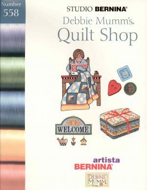 Bernina Artista 558 Quilt Shop Embroidery Card