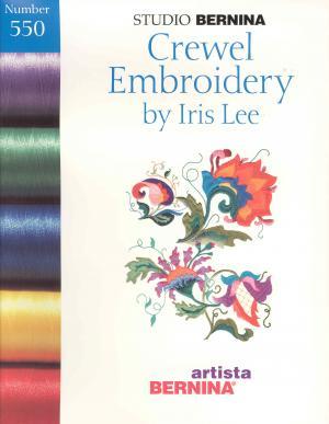 Bernina Artista 550 Crewel Embroidery Card