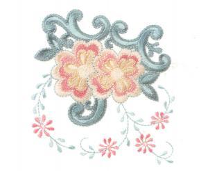 Bernina Artista 8 Deco Designs Embroidery Card