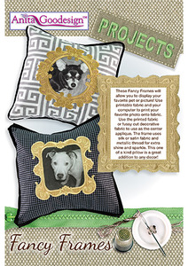 Anita Goodesign PROJ57 Fancy Frames Projects Emb. Designs CD