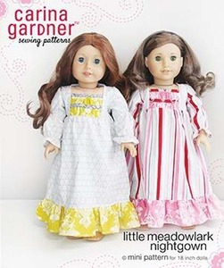 Carina Gardner Little Meadowlark Nightgown mini Pattern