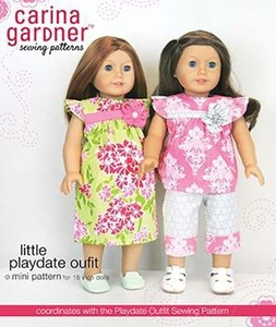 Carina Gardner Little Playdate Outfit mini Pattern
