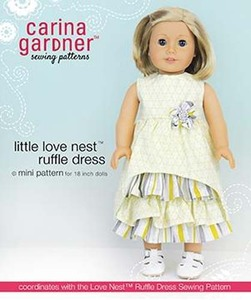 Carina Gardner Little Love Nest Ruffle Dress mini Pattern