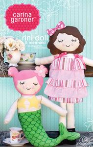 Carina Gardner Rini Doll & Mermaid Sewing Pattern