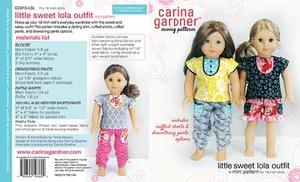 Carina Gardner Little Sweet Lola Outfit Pattern