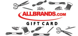$150 AllBrands.com Electronic Gift Card, Email Certificate Number, Redeemable Onlline for up to 5 Years, on 15,000 Sewing, Vacuum & Appliance Products