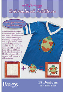 Anita Goodesign EA Bugs Multiformat Embroidery Design CD