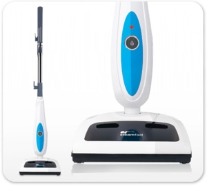 Steamfast SF-825 Sweeper Steam Mop hard floor cleaning system