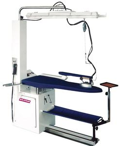 Hi Steam Commercial PND-5000B Vacuum Blowing Ironing Board & Iron* for Your Boiler, Choose 110V or 220V