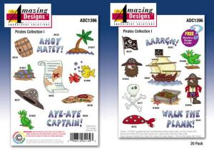 Amazing Designs / Great Notions 1396 Pirate Collection I Multi-Formatted CD