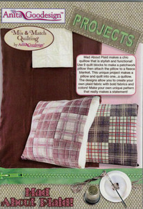 Anita Goodesign Mad About Plaid Collection Multiformat Embroidery Design CD
