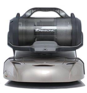 Ecovacs Deebot D77 3D Robot Floor Cleaner & Hand Vacuum, 12 Tools, Charging Station