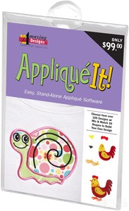 Amazing Designs AD-AI Applique It! Software, 59 Applique projects & 103 Applique Shapes