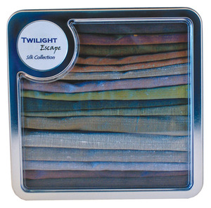 Twilight Escape 9972-16 Dupioni Fat Quarters Silk Collection for Patterns*